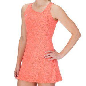 K-Swiss Orange Sideline Tennis Dress - Small